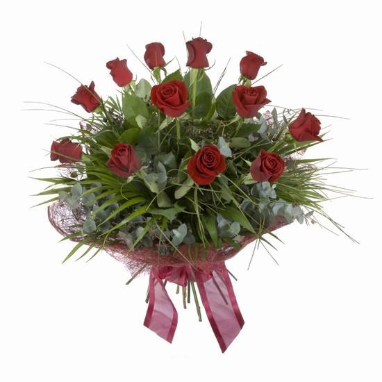 Etkileyici buket 11 adet kirmizi gül buketi  Adıyaman internetten çiçek satışı