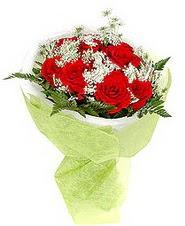 Adıyaman çiçek , çiçekçi , çiçekçilik  7 adet kirmizi gül buketi tanzimi