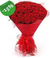 51 adet kırmızı gül buketi özel hissedenlere  Adıyaman çiçek siparişi sitesi