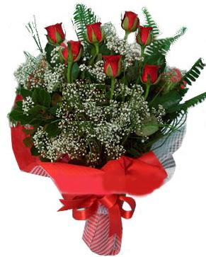 7 kırmızı gül buketi  Adıyaman çiçek servisi , çiçekçi adresleri