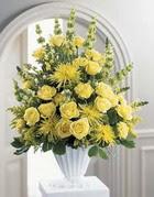Adıyaman çiçek siparişi sitesi  sari güllerden sebboy tanzim çiçek siparisi