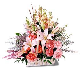 Adıyaman çiçek siparişi sitesi  mevsim çiçekleri sepeti özel tanzim
