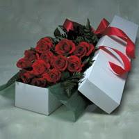 Adıyaman online çiçek gönderme sipariş  11 adet gülden kutu