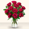 Adıyaman çiçek yolla  10 adet gül cam yada mika vazo da