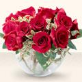 Adıyaman çiçek online çiçek siparişi  mika yada cam içerisinde 10 gül - sevenler için ideal seçim -