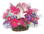 küçük karisik özel sepet   Adıyaman çiçek online çiçek siparişi