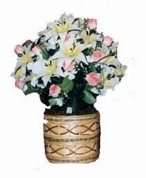 yapay karisik çiçek sepeti   Adıyaman çiçek servisi , çiçekçi adresleri