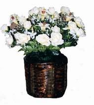 yapay karisik çiçek sepeti   Adıyaman cicek , cicekci