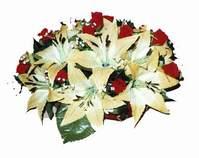 yapay karisik çiçek sepeti   Adıyaman internetten çiçek siparişi