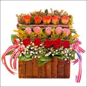 sandikta 3 kat güllerden   Adıyaman cicekciler , cicek siparisi