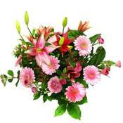 lilyum ve gerbera çiçekleri - çiçek seçimi -  Adıyaman çiçek gönderme