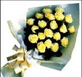 sari güllerden sade buket  Adıyaman çiçek , çiçekçi , çiçekçilik