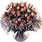 büyük cam fanusta güller   Adıyaman çiçek yolla