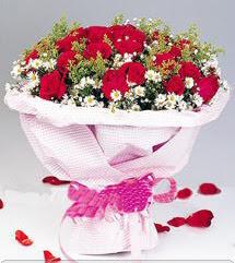 Adıyaman internetten çiçek satışı  12 ADET KIRMIZI GÜL BUKETI