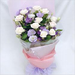Adıyaman internetten çiçek satışı  BEYAZ GÜLLER VE KIR ÇIÇEKLERIS BUKETI