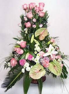 Adıyaman ucuz çiçek gönder  özel üstü süper aranjman
