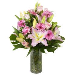 vazo içerisinde karisik mevsim çiçekleri  Adıyaman internetten çiçek siparişi
