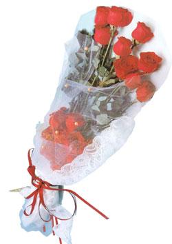 11 adet kirmizi güller buket tanzimi   Adıyaman çiçek siparişi sitesi