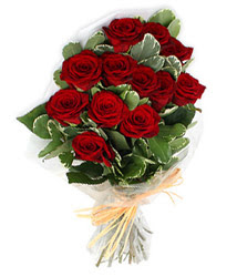 Adıyaman çiçek yolla , çiçek gönder , çiçekçi   9 lu kirmizi gül buketi.