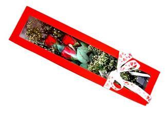 Adıyaman hediye çiçek yolla  Kutuda 3 adet gül