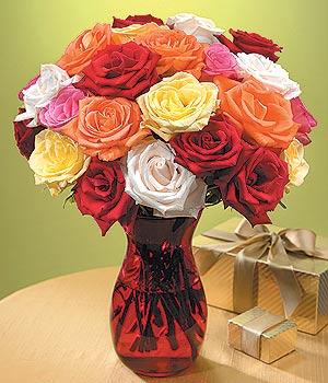 Adıyaman anneler günü çiçek yolla  13 adet renkli gül