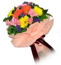 Adıyaman çiçekçi mağazası  Karisik mevsim çiçeklerinden demet