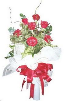 Adıyaman çiçek siparişi sitesi  7 adet kirmizi gül buketi