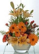 Adıyaman çiçek servisi , çiçekçi adresleri  cam yada mika vazo içinde karisik mevsim çiçekleri