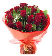 Adıyaman anneler günü çiçek yolla  11 adet kimizi gülün ihtisami buket modeli