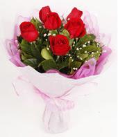 9 adet kaliteli görsel kirmizi gül  Adıyaman çiçek gönderme