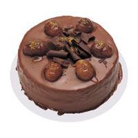 Kestaneli çikolatali yas pasta  Adıyaman çiçek , çiçekçi , çiçekçilik
