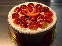 Meyvali yas pasta 4 ile 6 kisilik pasta  Adıyaman çiçek siparişi sitesi