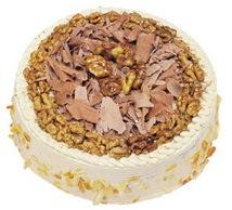 Karamelli 4 ile 6 kisilik yas pasta  Adıyaman çiçek yolla