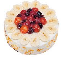 Meyvali 4 ile 6 kisilik yas pasta leziz  Adıyaman ucuz çiçek gönder