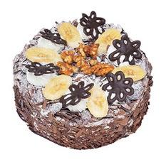 Muzlu çikolatali yas pasta 4 ile 6 kisilik   Adıyaman uluslararası çiçek gönderme