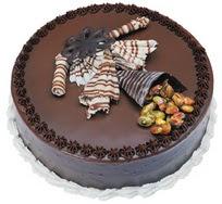 Çikolatali yas pasta 4 ile 6 kisilik  leziz  Adıyaman çiçek mağazası , çiçekçi adresleri