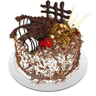 4 ile 6 kisilik çikolatali yas pasta  Adıyaman kaliteli taze ve ucuz çiçekler