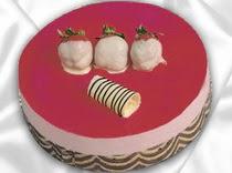 pasta siparisi 4 ile 6 kisilik yas pasta çilekli yaspasta  Adıyaman çiçek servisi , çiçekçi adresleri