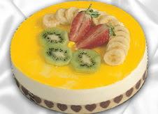 pasta gönderme 4 ile 6 kisilik yas pasta muzlu yaspasta  Adıyaman çiçek mağazası , çiçekçi adresleri
