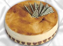 taze pasta 4 ile 6 kisilik yas pasta karamelli yaspasta  Adıyaman çiçekçiler
