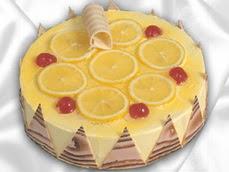 taze pastaci 4 ile 6 kisilik yas pasta limonlu yaspasta  Adıyaman online çiçek gönderme sipariş