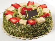 pasta gönder  4 ile 6 kisilik karisik meyvali yas pasta  Adıyaman internetten çiçek siparişi