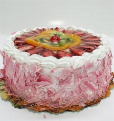 görsel pastacilar 4 ile 6 kisilik yas pasta karisik meyvali  Adıyaman çiçek online çiçek siparişi