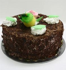 4 ile 6 kisilik yas pasta çikolatali leziz pastane ürünü  Adıyaman cicekciler , cicek siparisi