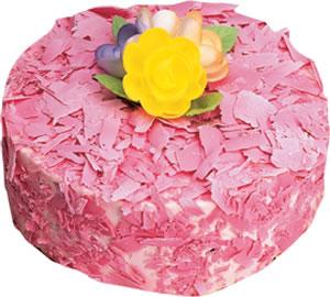 pasta siparisi 4 ile 6 kisilik framboazli yas pasta  Adıyaman çiçek yolla