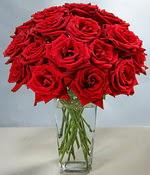 Adıyaman çiçek siparişi sitesi  Sevdiklerinize özel ürün 12 adet cam içerisinde kirmizi gül  Adıyaman hediye çiçek yolla