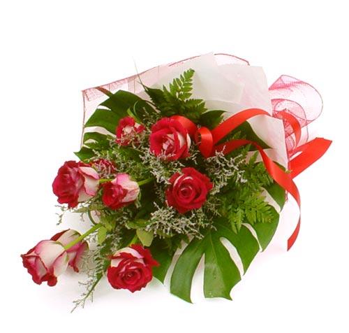 çiçek gönder 7 adet kirmizi gül buketi  Adıyaman kaliteli taze ve ucuz çiçekler