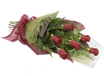 ucuz çiçek siparisi 6 adet kirmizi gül buket  Adıyaman çiçek siparişi sitesi