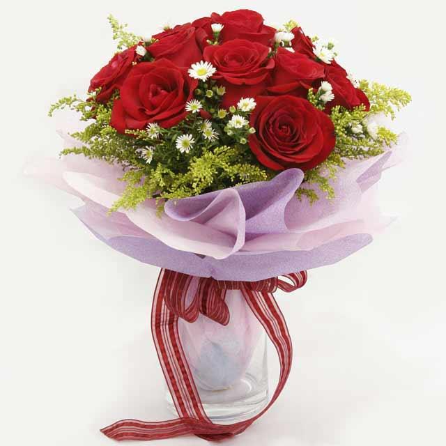 Çiçek gönderme estetikliginiz 11 gül buket  Adıyaman çiçekçi mağazası