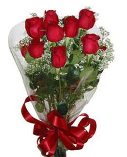 Çiçek sade gül buketi 7 güllü buket  Adıyaman online çiçek gönderme sipariş